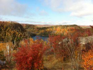 Fall in Nanabijou's country, near Thunder Bay, setting of Tanya Talaga's Seven Fallen Feathers