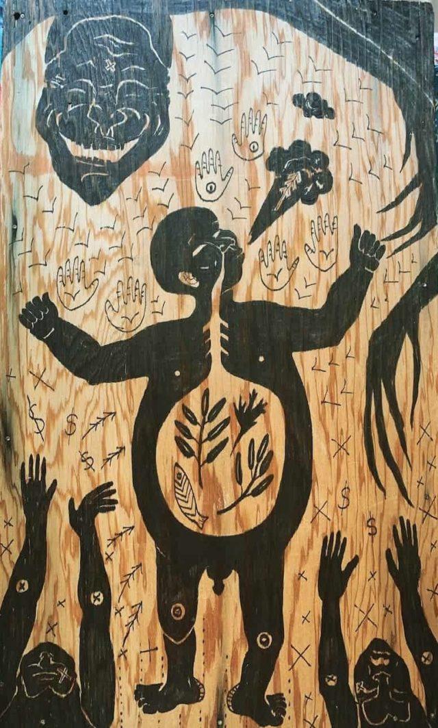 artwork © Amber Webb. Substance abuse pandemic